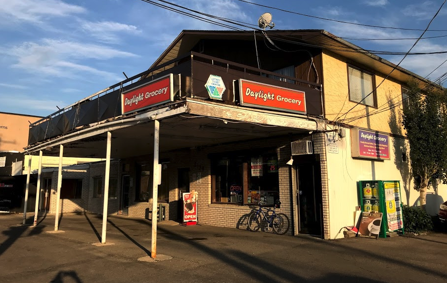 The Daylight Grocery store has been operating for over 50 years.