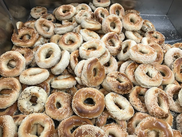 St. Lawrence Bagels opened recently at 2638 Parkdale Drive with a wood burning oven.  The owner/baker spent 10+ years working at Montreal's iconic St. Viateur Bagel Shop.
