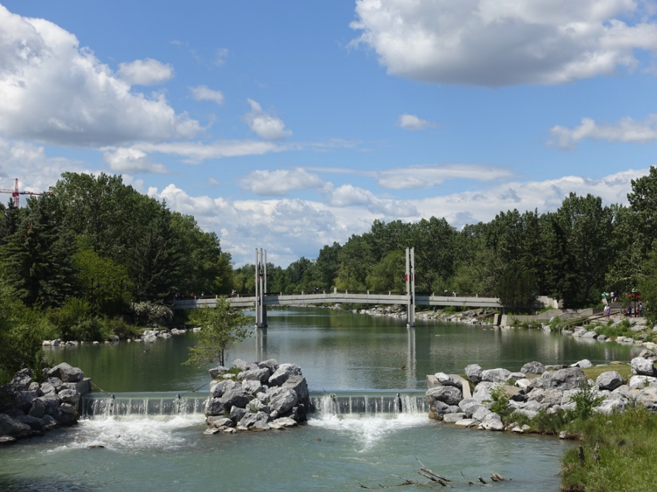Prince's Island is Calgary's signature urban park.