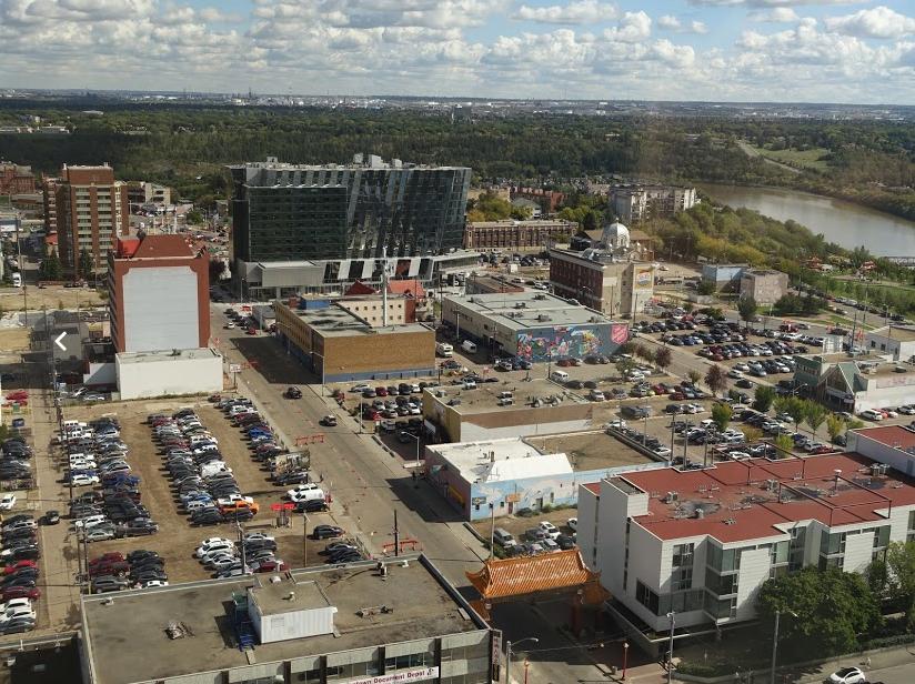Edmonton's Quarters redevelopment.