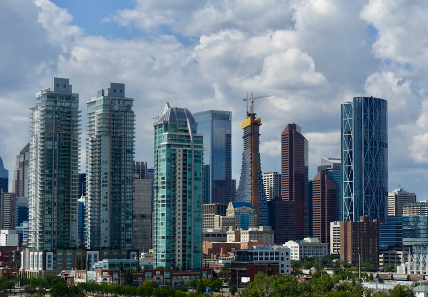 In Calgary, numerous residential towers are now an integral part of the urban skyline.