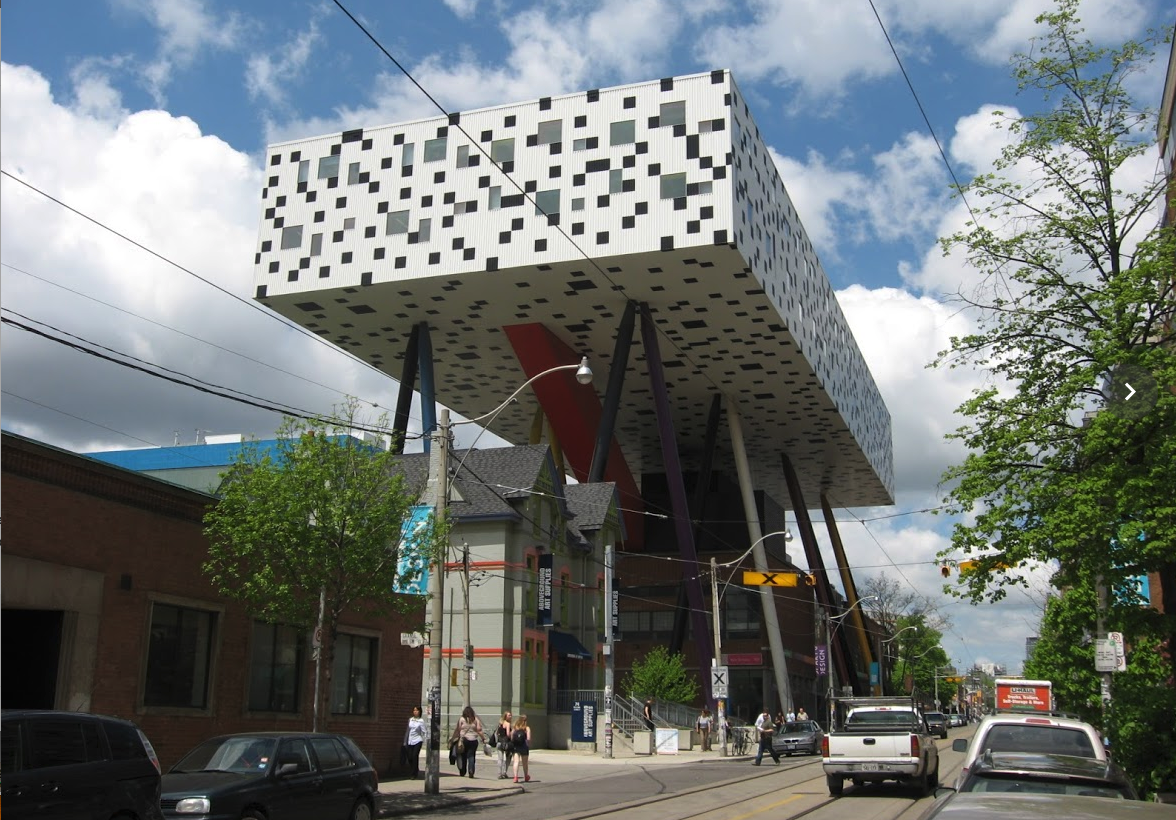"Will Alsop's addition to the Ontario College of Art is just one of many buildings that shout out ""Toronto is a creative city."""