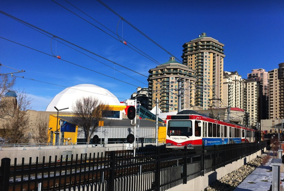 Downtown West was home to Calgary's Planetarium and Science Centre, which is ear marked to become a public art gallery. It is the gateway into the downtown for LRT riders.