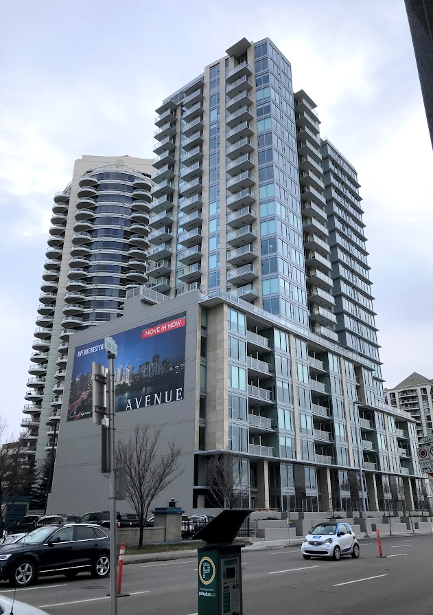 Avenue West is Downtown West's first luxury condo in many decades.