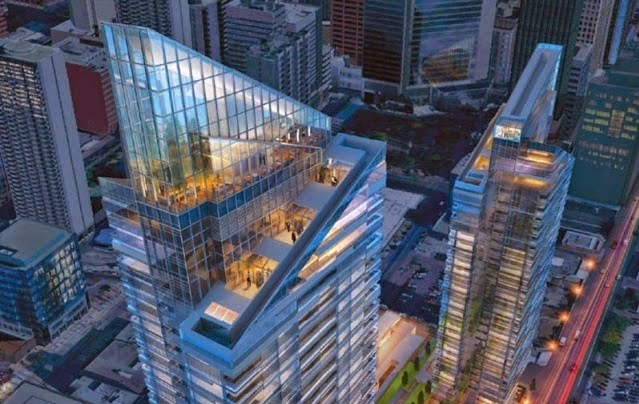Downtown West's quiet evolution is about to get a bit louder with the West Village project that is going to be another architectural landmark for Calgary.