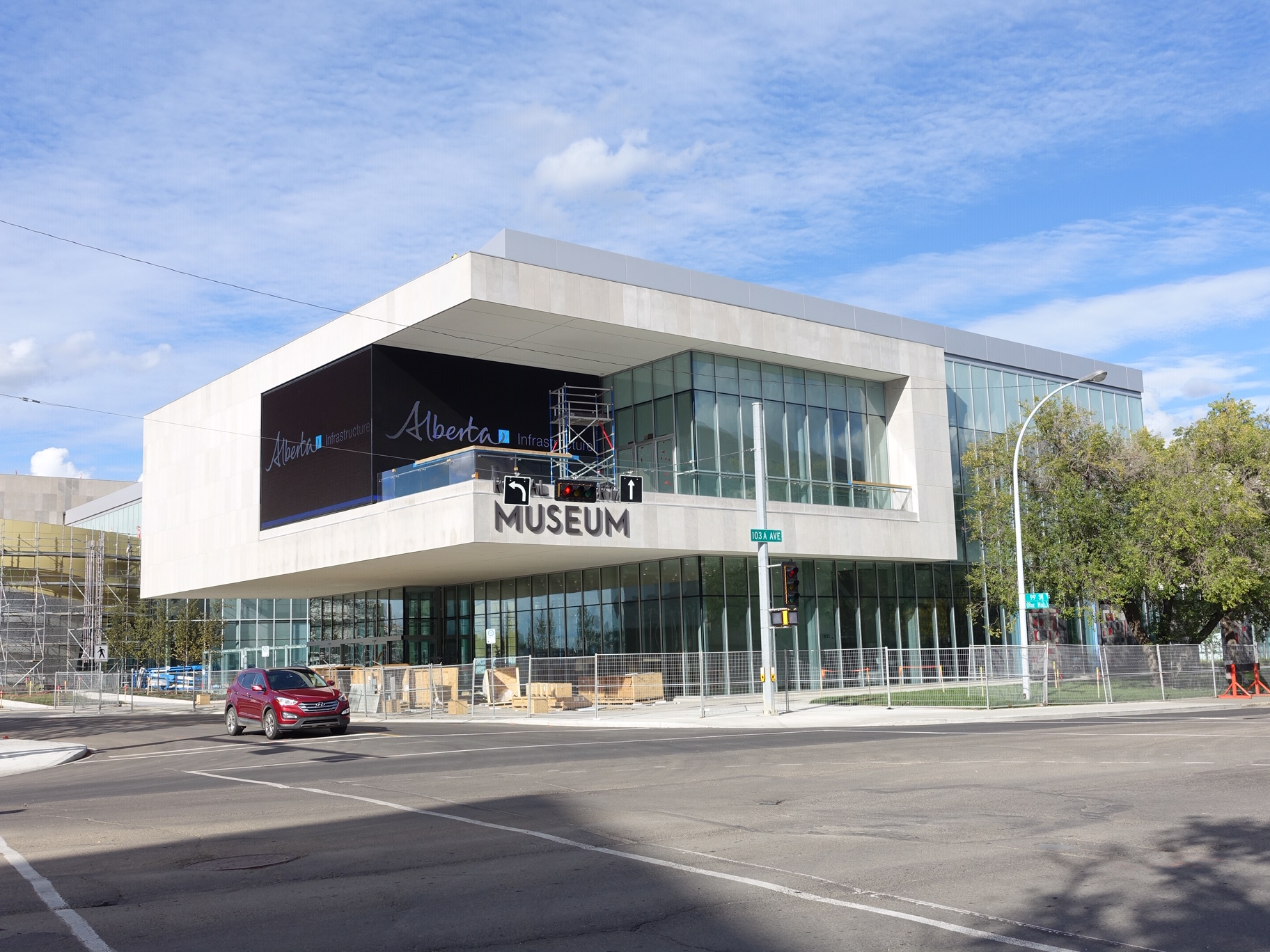 Alberta's Provincial Museum that Morris liked has moved downtown's cultural district.