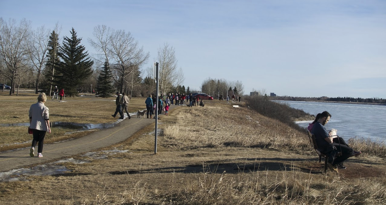 Calgary has 905 km of multi-purpose pathways and 95 km of trails that are popular year-round.