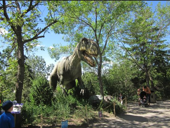 The Calgary Zoo's Prehistoric Park is also very popular.