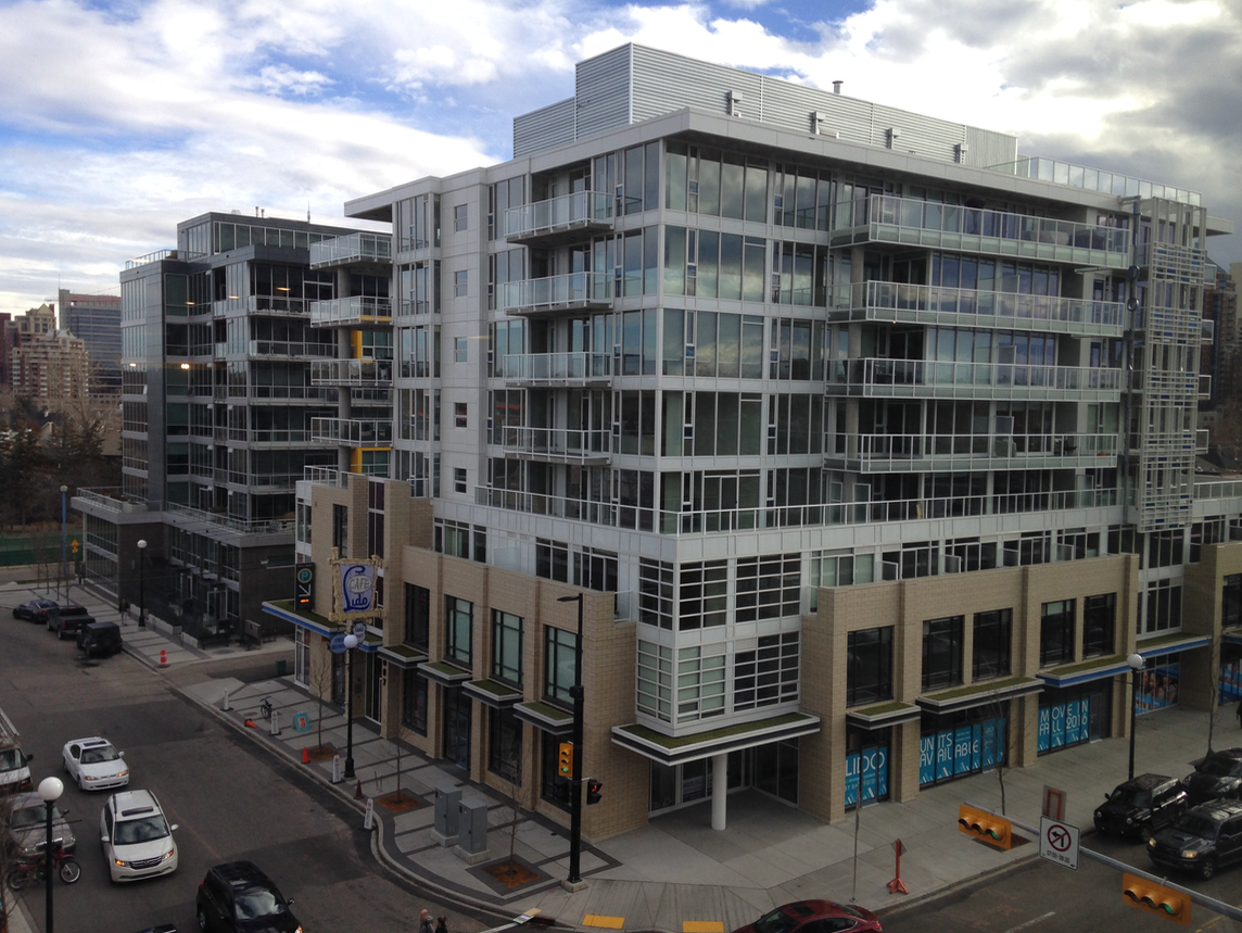 Kensington's new condos are also very appealing to women buyers with its mix of boutiques, cafes, restaurants, access to LRT station, as well as to downtown and the Bow River pathway.