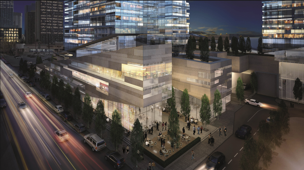 The project will include space for commercial developments like an urban grocery store.