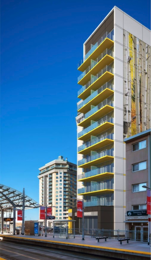 Hat on 7th is Cidex's other project in Downtown West. It will be Calgary's second residential development without any resident parking.