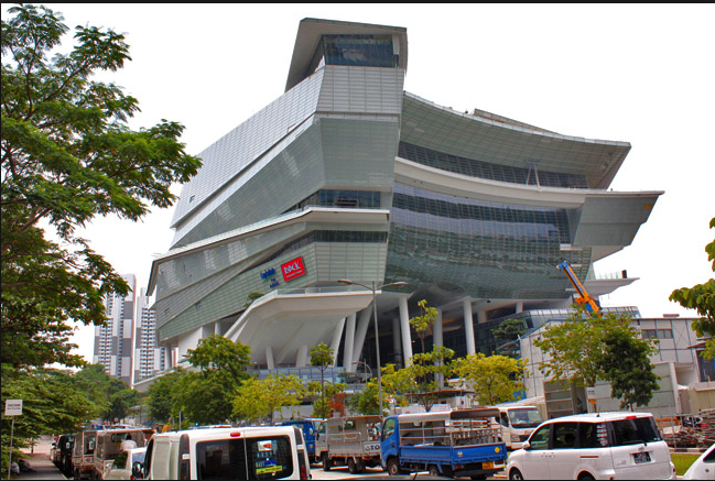 New Creation Church makes a unique architectural statement that is both modern and traditional.