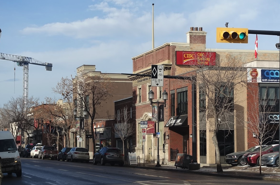 Calgary's historic Main Street aka Atlantic Avenue has a diversity of shops, cafes, restaurants, galleries and live music venues in early 20th century buildings.