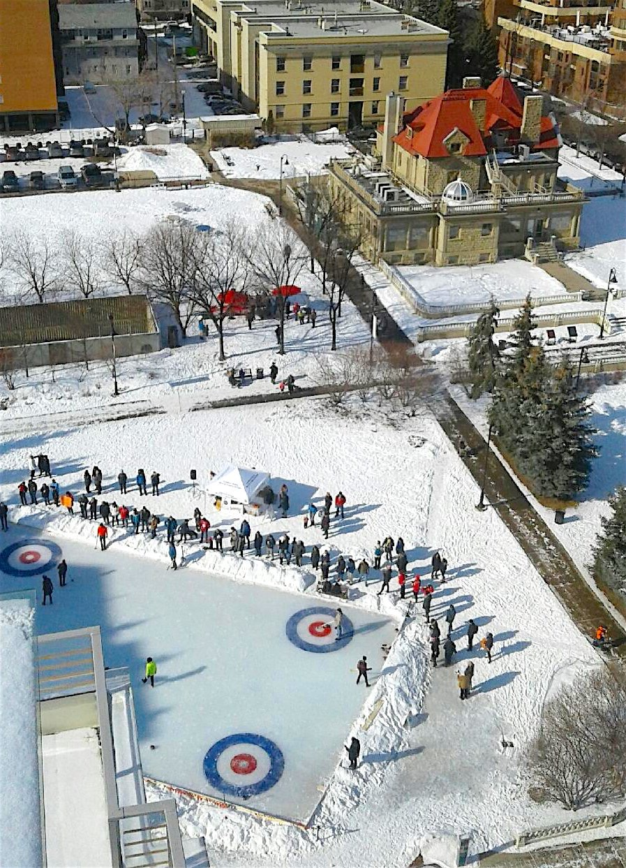 Community events and festivals like the annual curling bonspiel make the Beltline a fun place to live.