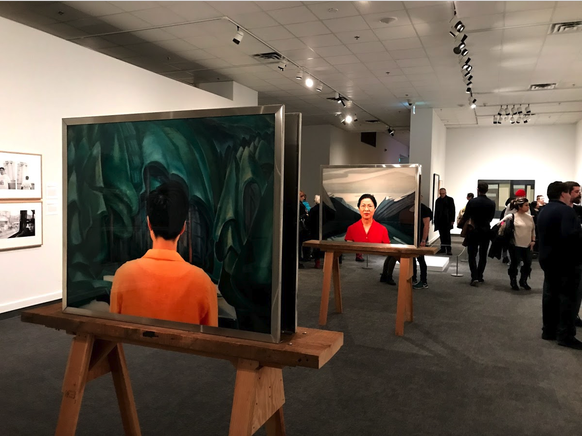 On Location: Artists Explore A Sense of Place, curated by Sarah Todd provides a past and present overview of life in Canada.