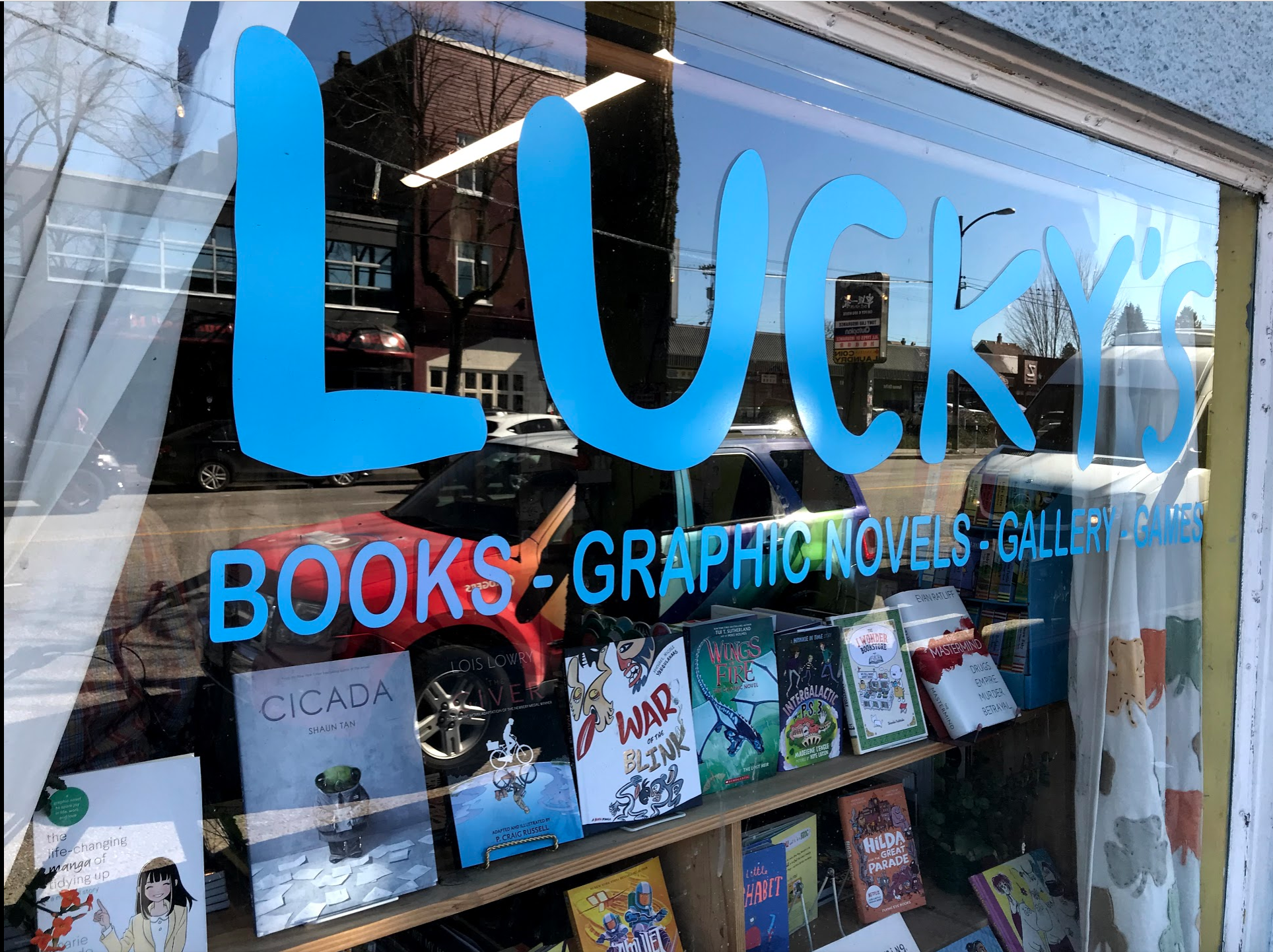 """There are several used bookstores like this one. No I didn't get lucky at this bookstore but I did the next day at Paper Hound Bookshop the next day - a signed copy of Jane Jacobs' """"Systems of Survival."""""""