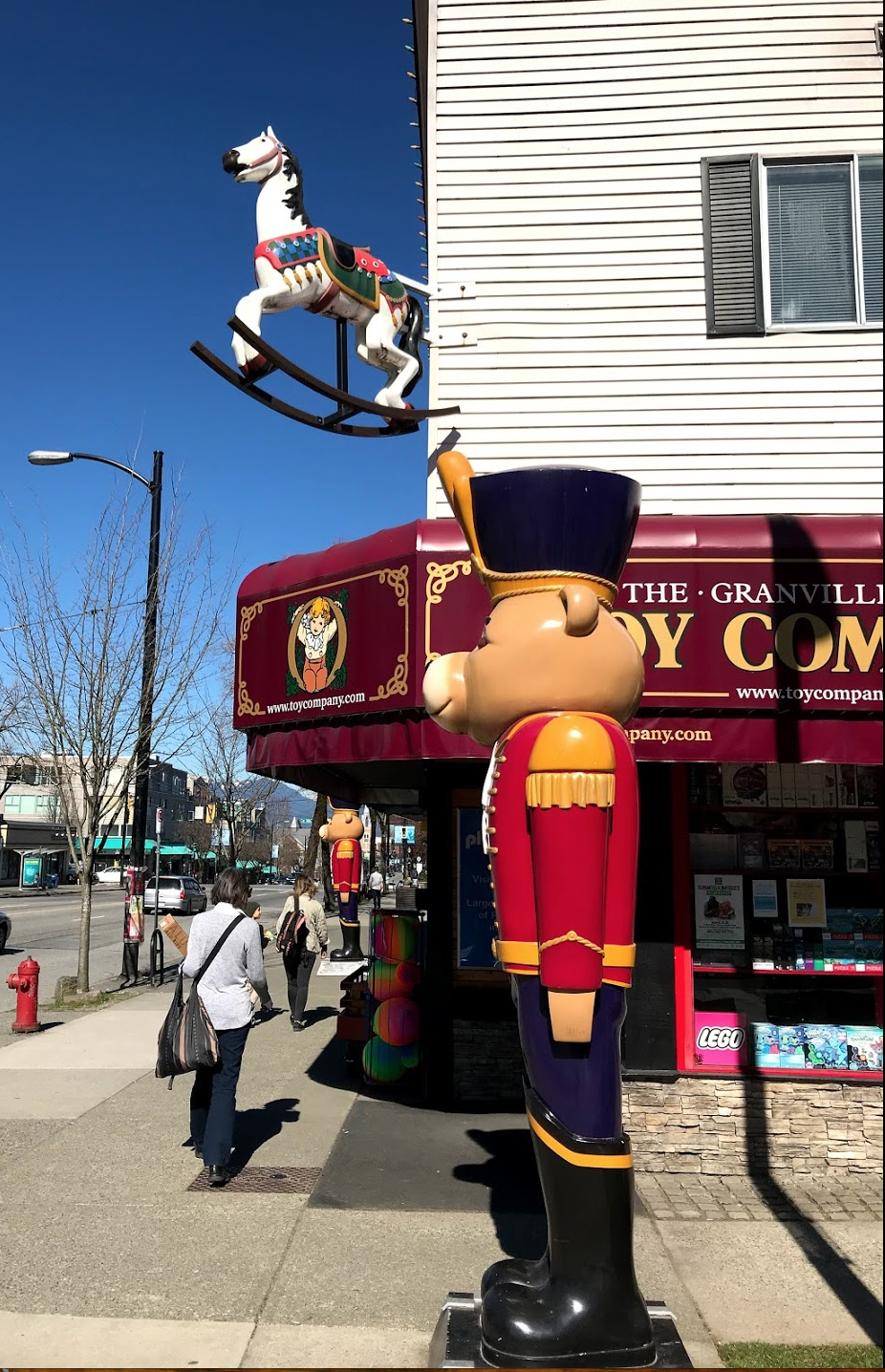 The Granville Island Toy Company opened a second location on Main Street in 2007.