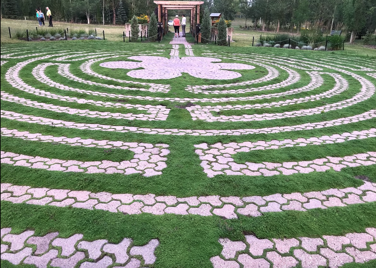 Silver Springs Botanical Garden labyrinth