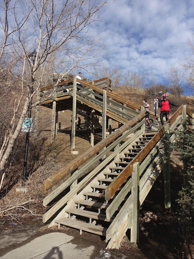 Memorial Park stair challenge