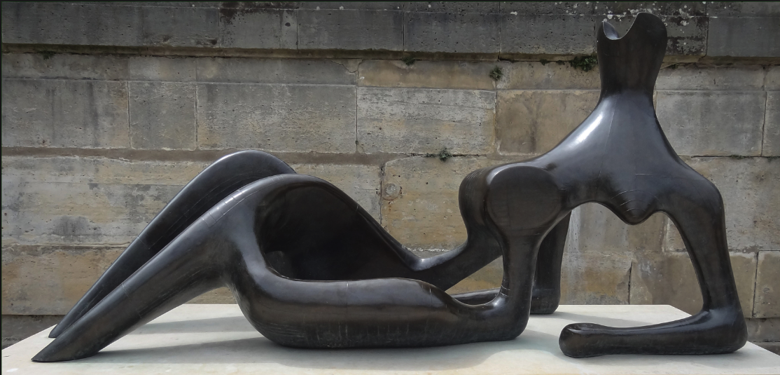 Henry Moore, Reclining Woman