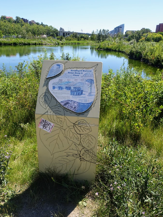 Chevron Interpretive Trail is also in Princes' Island Park