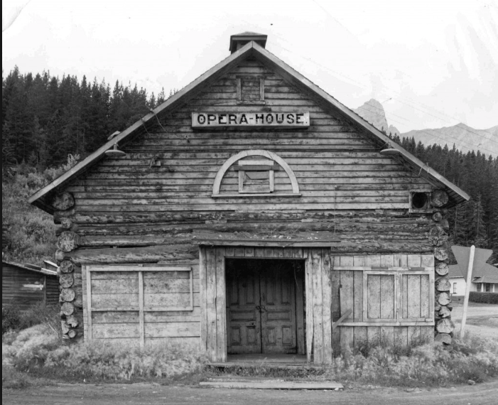 The original Canmore Opera House