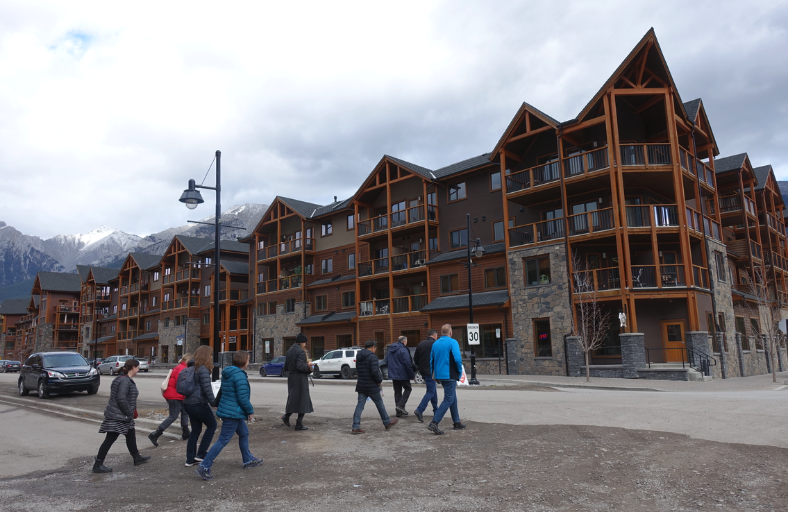 Spring Creek's masterplan allows for low-rise buildings only with the architecture being traditional mountain chalet style.