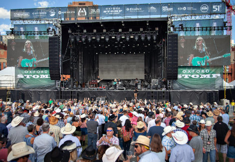 East Village's Fort Calgary is a popular outdoor concert venue in the summer.