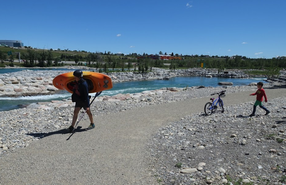 Inglewood's Harvie Passage is fun for hikers, kayakers and bikers.
