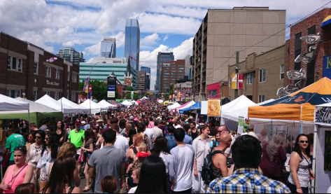 Calgary's summer festival season kicks off each year with the Lilac Festival along 4th Street in Mission.