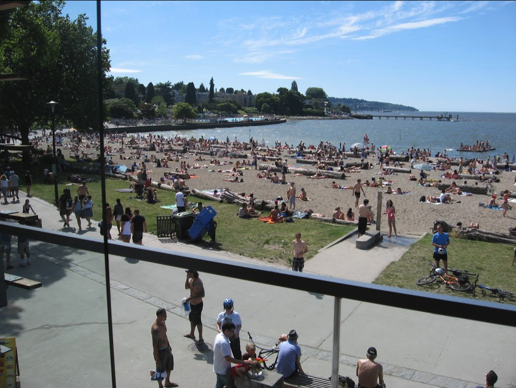Calgary can't match the Kitsilano beach.