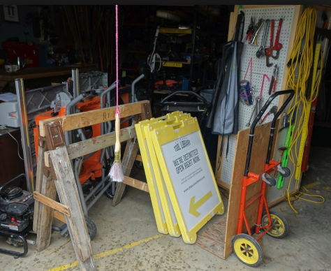 Bridgeland/Riverside has a tool lending library - how cool is that?