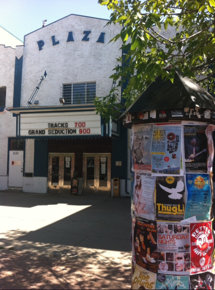 Kensington Village is home to the iconic Plaza theatre.