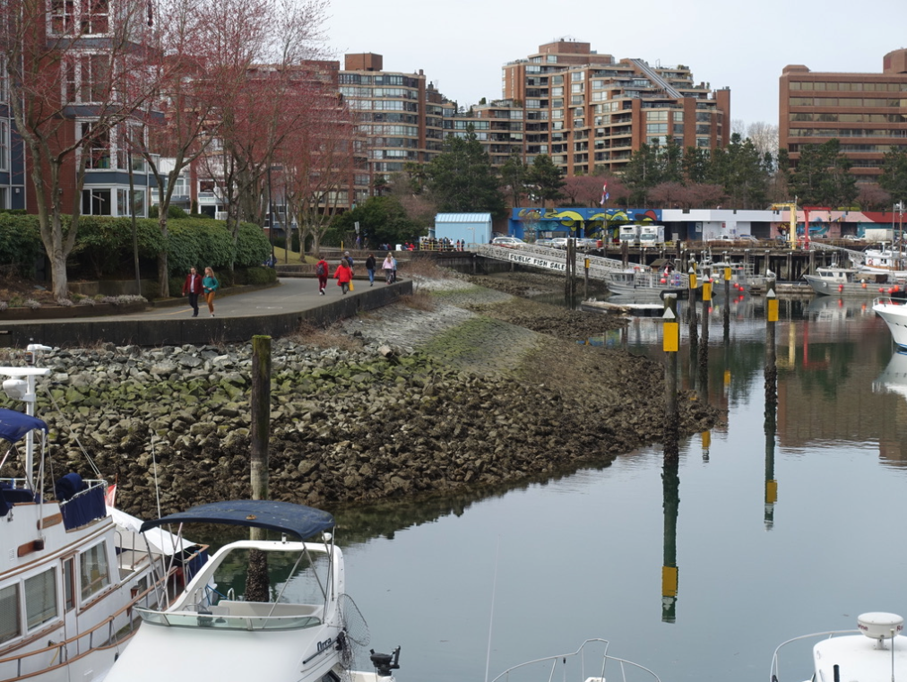 Vancouver's False Creek residents enjoy easy access to the waterfront and Granville Island.