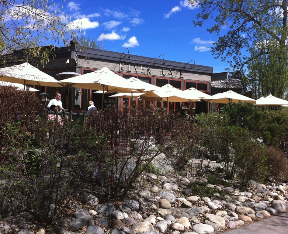 Eau Claire is home to one of Calgary's best restaurants - River Cafe.