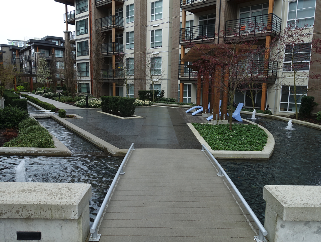 The streetscapes of Wesbrook Village are outstanding.