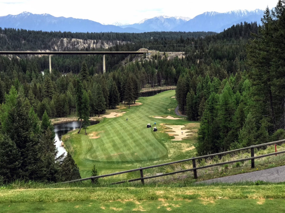 Shadow Mountain's signature hole.