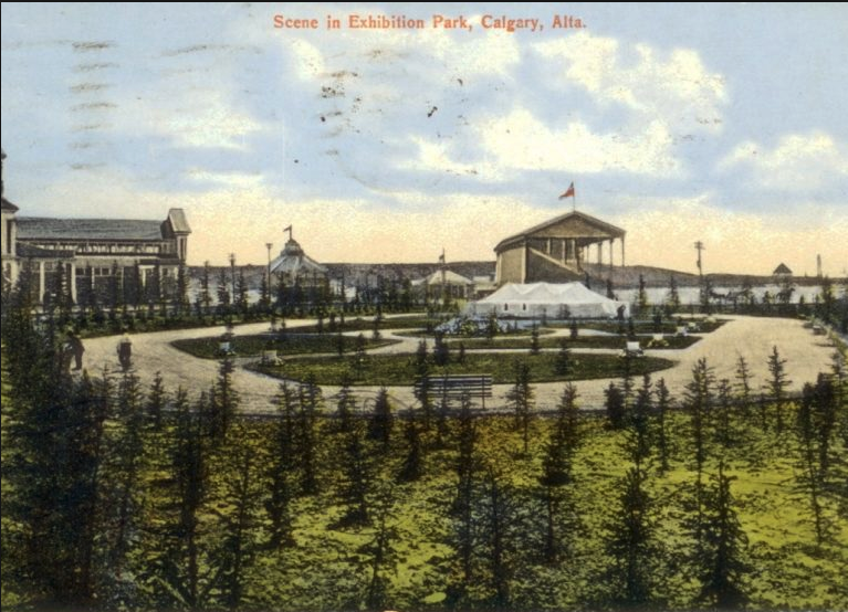 Stampede Park early 20th century