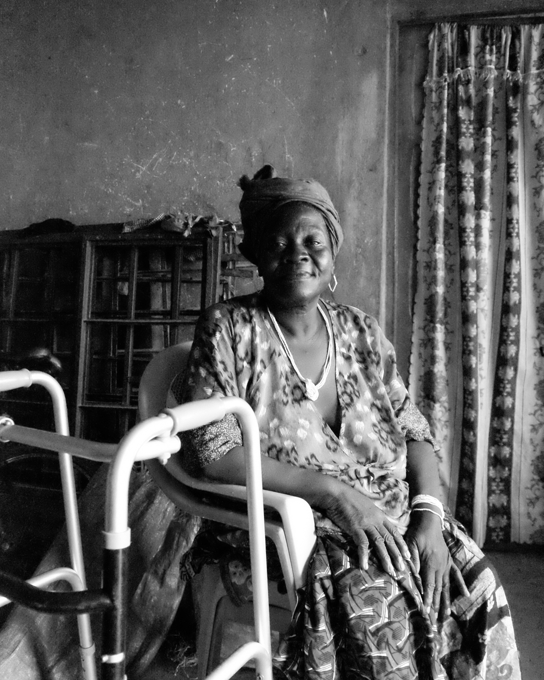 Daniel's Grandmother, Makeni, Sierra Leone