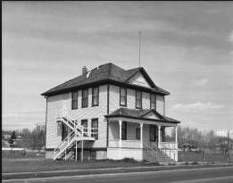 Grand Trunk School's original design.