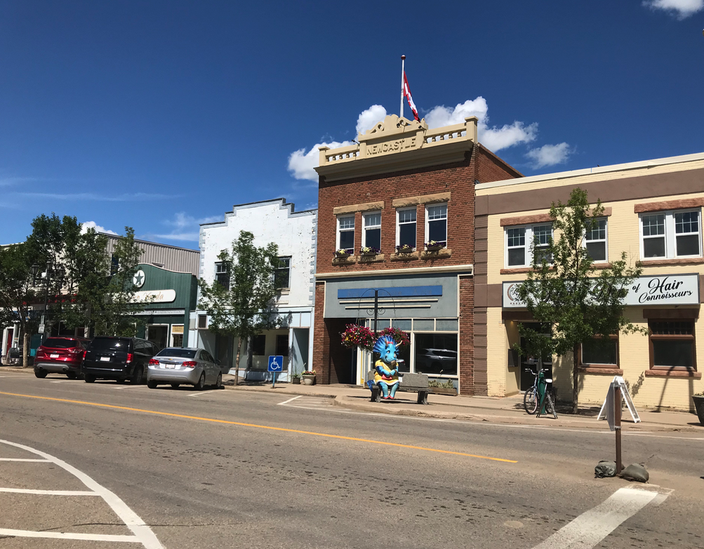 Downtown Drumheller has an eclectic collection of shops to explore.