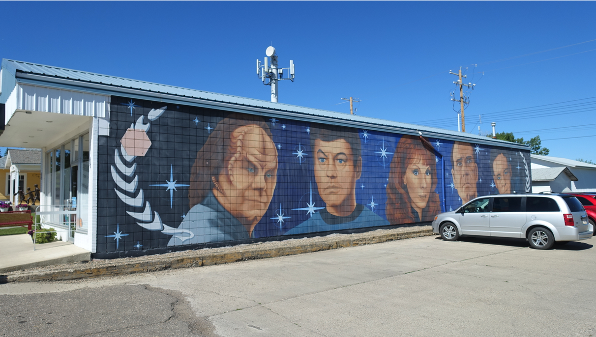 Next Stop Vulcan (population 1,917), where the entire town has embraced the Star Trek theme as a means of attracting tourists and adding some fun to living there.