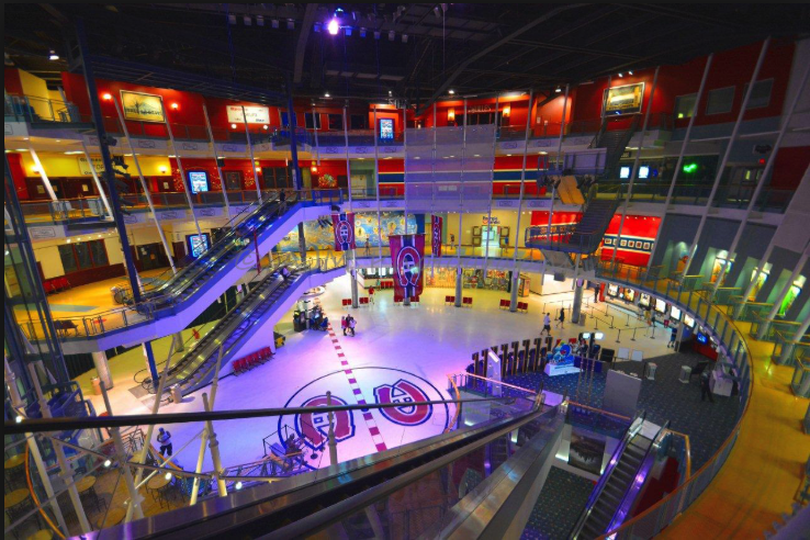 Montreal Forum was converted into a mixed-use entertainment centre.