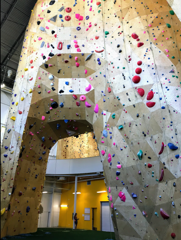 Could one of the potential new uses be a huge climbing facility?