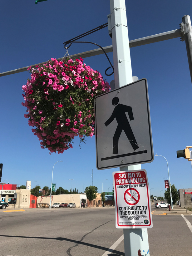 "As the Executive Director of the Calgary Downtown Association I ignited one of the first ""Say No To Panhandlers"" campaigns in Canada. You don't hear much about panhandling problems anymore are there fewer or have we just accepted them."