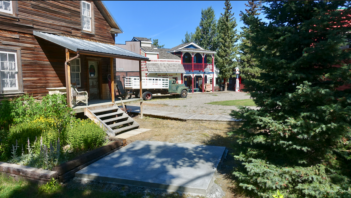 The Museum also includes a village that is very much like Calgary's Heritage Park but on a smaller scale.