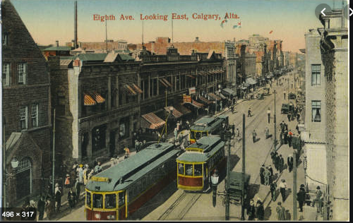 Stephen Avenue was a bustling street early in the 20th Century with pedestrians mingling with street cars, automobiles and even horse and buggies. Perhaps we have too many rules governing how we use Stephen Avenue aka Eight Avenue.