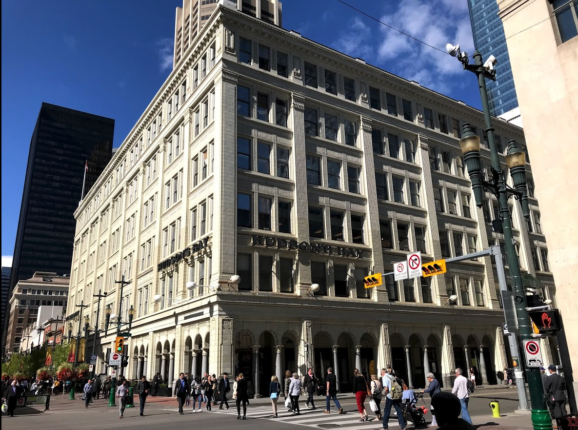 The historic Hudson's Bay department store has the potential to become a unique shopping experience. Stephen Avenue needs several retail champions who can create a unique shopping experience.