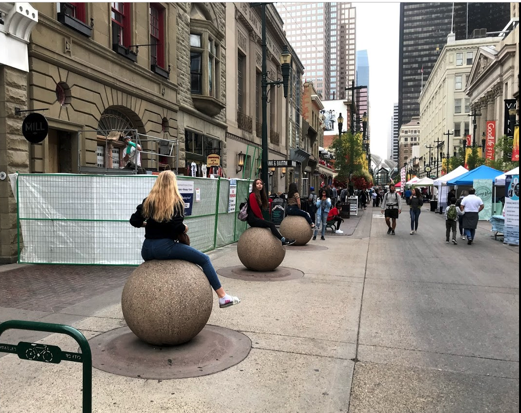 Stephen Avenue needs more fun things to see and do.