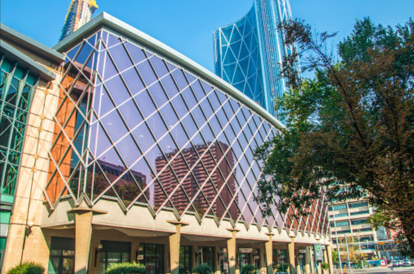 The Calgary Telus Convention Centre also calls Stephen Avenue home.